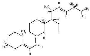 Vitamin D structure